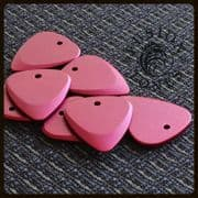 Fusion Tones - Red - 4 Guitar Picks | Timber Tones